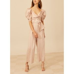 NWT C/MEO Collective Through You Jumpsuit